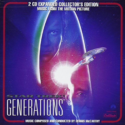 Star Trek Generations 2 CD Collector's Edition 2 CD