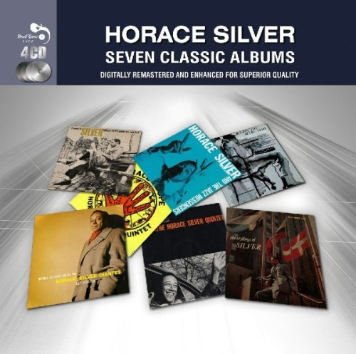 Horace Silver Seven Classic Albums Import Gbr 4 CD