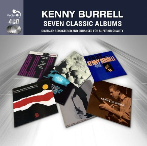 Kenny Burrell Seven Classic Albums Import Gbr 4 CD