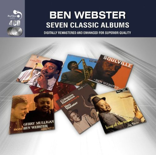 Ben Webster Seven Classic Albums Import Gbr 4 CD