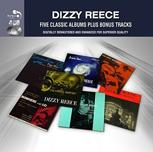Dizzy Reece Five Classic Albums Plus Import Gbr 4 CD