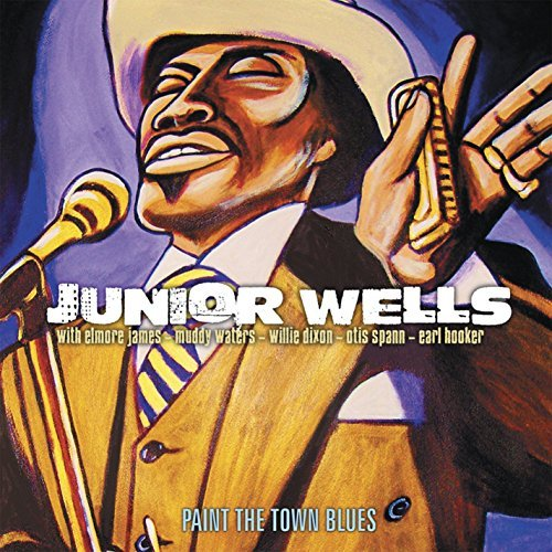 Junior Wells Paint The Town Blues 2 CD