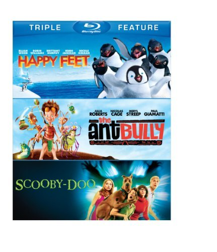 Happy Feet Ant Bully Scooby Do Happy Feet Ant Bully Scooby Do Blu Ray Ws Nr 3 Br