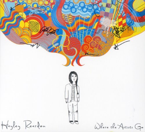 Hayley Reardon Where The Artists Go Digipak