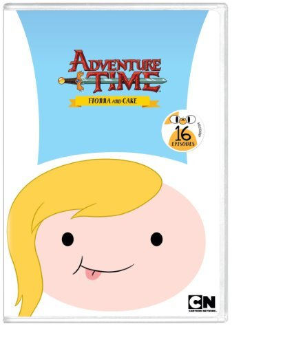 Adventure Time Fionna & Cake DVD