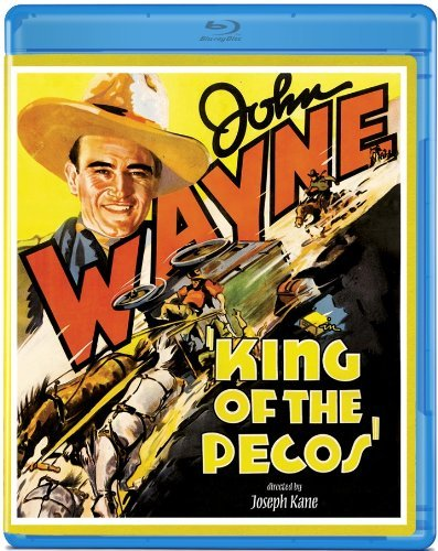 King Of The Pecos (1936) Wayne Evans Kendall Blu Ray Ws Bw Nr