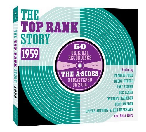 Top Rank Story 1959 A Sides Top Rank Story 1959 A Sides Import Gbr 2 CD