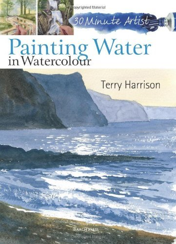 Terry Harrison Painting Water In Watercolour