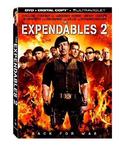 Expendables 2 Stallone Statham Willis Schwarz DVD Dc R Ws