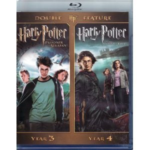 Harry Potter Double Feature Year 3 Year 4 Blu Ray