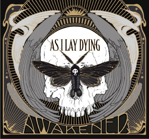 As I Lay Dying Awakened Gray White Vinyl