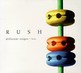 Rush Different Stages 2 CD Set