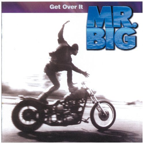 Mr. Big Get Over It CD R
