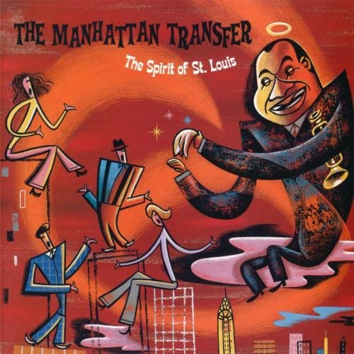 Manhattan Transfer Spirit Of St. Louis CD R
