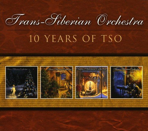 Trans Siberian Orchestra 10 Years Of Tso Import Can 4 CD
