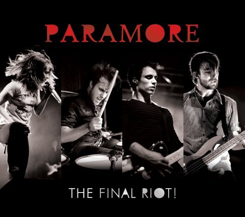 Paramore Final Riot! Incl. DVD