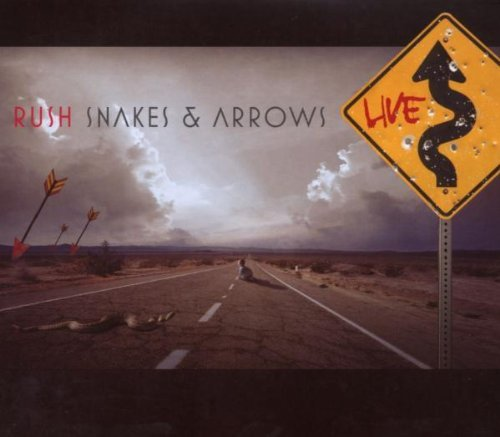 Rush Snakes & Arrows Live 2 CD Set
