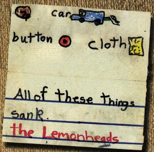 Lemonheads Car Button Cloth CD R