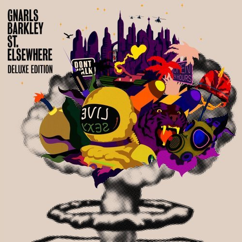 Gnarls Barkley St. Elsewhere Deluxe Ed. 2 CD Set