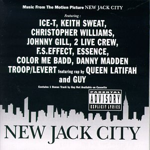 Various Artists New Jack City Explicit Version Gill Williams Troop Levert