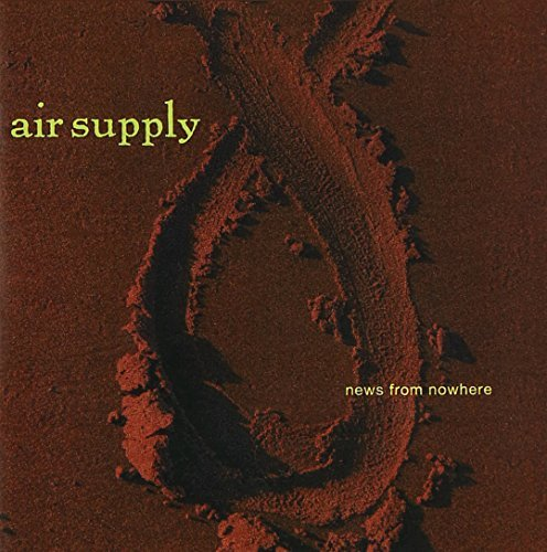 Air Supply News From Nowhere CD R