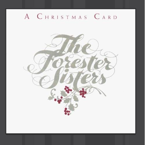 Forester Sisters Christmas Card CD R