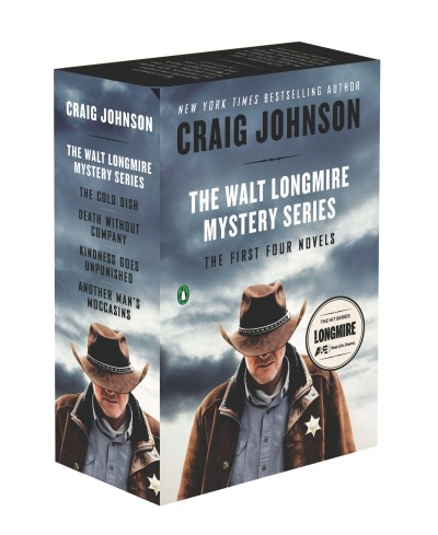 Craig Johnson The Walt Longmire Mystery Series Boxed Set Another Man's Moccasins Kindness Goes Unpunished