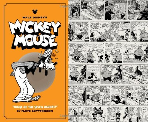 "Floyd Gottfredson Walt Disney's Mickey Mouse Vol. 4 ""house Of The Seven Haunts!"
