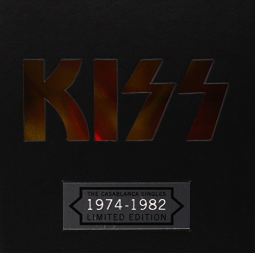 Kiss Casablanca Singles 29 CD Single Box Set