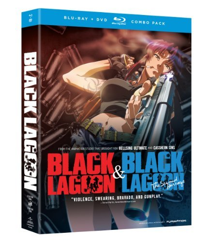 Black Lagoon Season 1 2 Blu Ray DVD Tv14