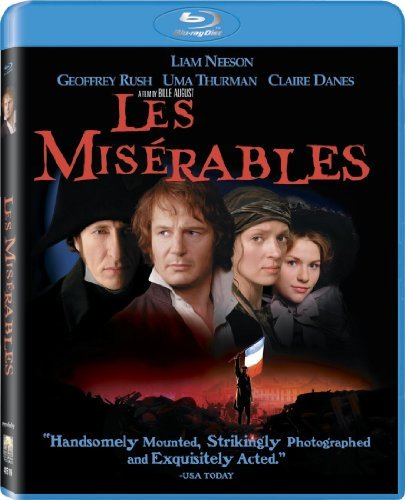 Les Miserables Neeson Rush Thurman Blu Ray Aws Pg13 Incl. Uv