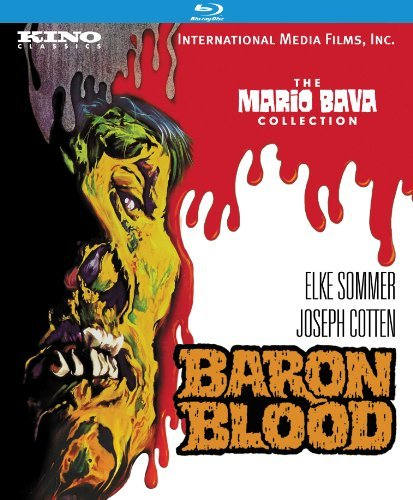 Baron Blood Sommer Cotten Blu Ray Ws Remastered Nr