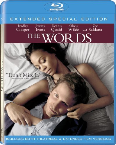 Words Cooper Irons Quaid Wilde Blu Ray Aws Ur Incl. Uv