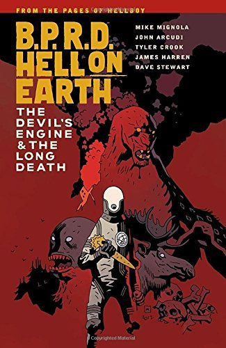 Mike Mignola B.P.R.D. Hell On Earth Volume 4 The Devil's Engine & The Long Death