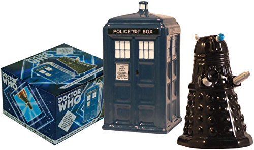Gift Tardis Vs Dalek Salt & Pepper Set