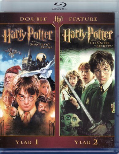 Harry Potter Double Feature Year 1 Year 2 Blu Ray