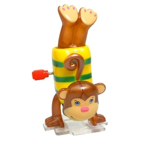 Wind Up Hand Stand Monkey Mikey