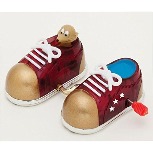 Wind Up Sneakers W Mouse Raffi