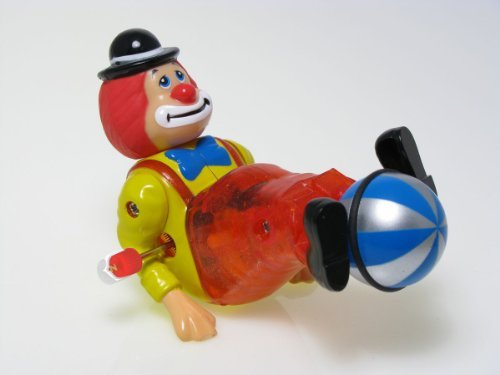 Wind Up Spinning Clown Charley
