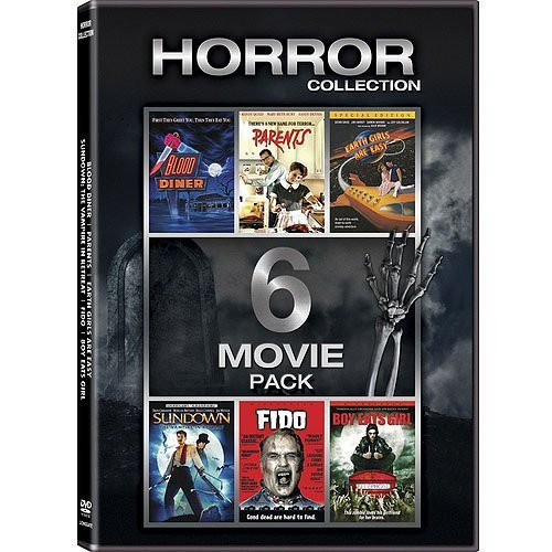 Horror Collection Blood Diner Parents Earth Girls Are Easy Sun