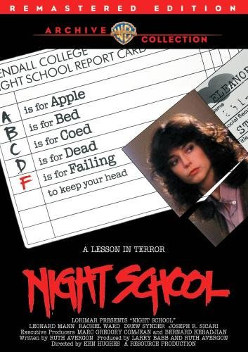 Night School (remastered) Mann Ward Snyder DVD Mod This Item Is Made On Demand Could Take 2 3 Weeks For Delivery