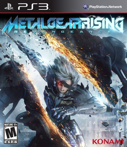 Ps3 Metal Gear Rising Revengeance Konami Of America M