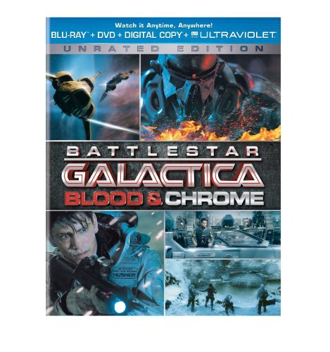 Pasqualino Bordan Battlestar Galactica Blood & Blu Ray Ws Nr Incl. DVD
