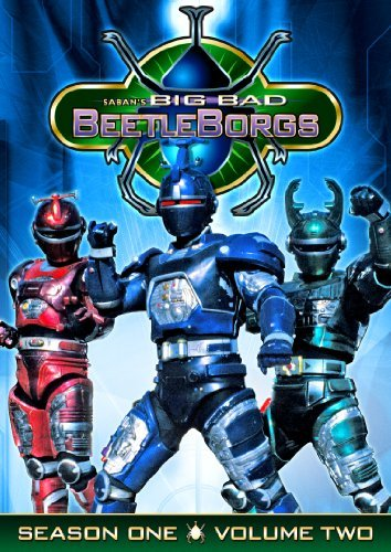 Big Bad Beetleborgs Season 1 Vol. 2 Tvy7 3 DVD