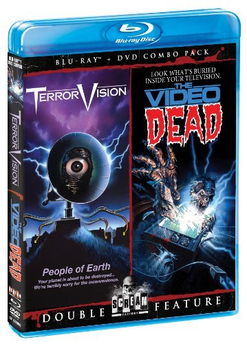 Terrorvision & The Video Dead Terrorvision & The Video Dead Blu Ray DVD R