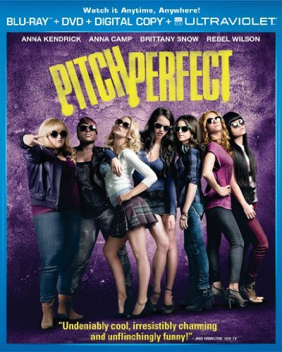 Pitch Perfect Kendrick Camp Snow Wilson Blu Ray DVD Dc Pg13