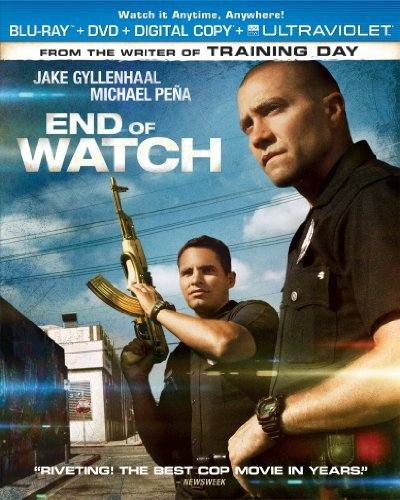 End Of Watch Gyllenhaal Pena Blu Ray Ws R Incl. DVD