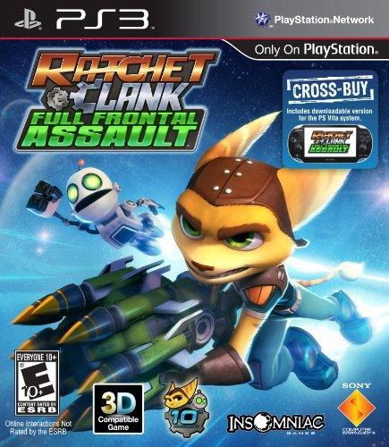 Ps3 Ratchet & Clank Full Frontal Sony Computer Entertainme Ratchet & Clank Full Frontal