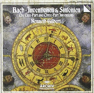 J.S. Bach Two Part & Three Part Inventions Gilbert Kenneth