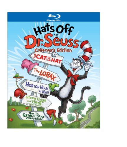 Hats Off To Dr. Seuss Hats Off To Dr. Seuss Blu Ray Ws Collectors Ed. Nr 5 Br Incl. Book